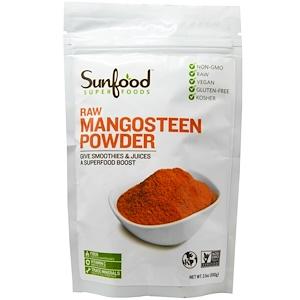Санфуд, Raw Mangosteen Powder, 3.5 oz (100 g) отзывы