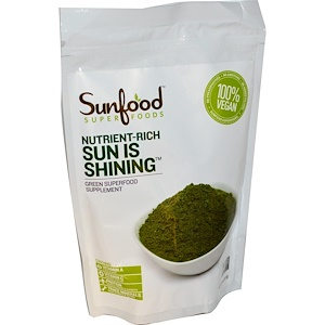 Sunfood, Суперзелень Sun Is Shining, 8 унций (227 г)