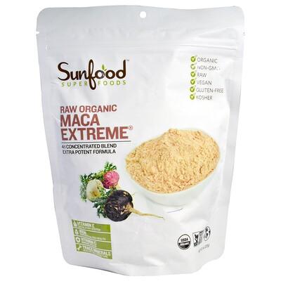 Купить Sunfood Натуральный органический мак, экстремальный, 227 г (8 унций)