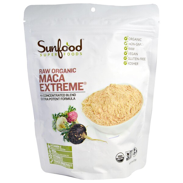 Raw Organic Maca Extreme, 8 oz (227 g)