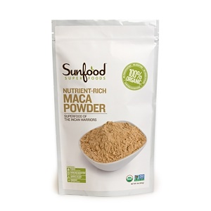 Санфуд, Maca Powder, Raw, 1 lb (454 g) отзывы покупателей