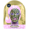 SFGlow, Glam Straight, Gold Foil Beauty Face Mask, 1 Sheet, 0.85 oz (25 ml)