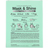 SFGlow, Mask & Shine, Frosted Pearl Modeling Beauty Mask, 4 Piece Kit