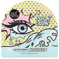 SFGlow, POP n' Glow 系列 Outta Sight 流行藝術眼膜,1 片裝,0.27 盎司(8 毫升)
