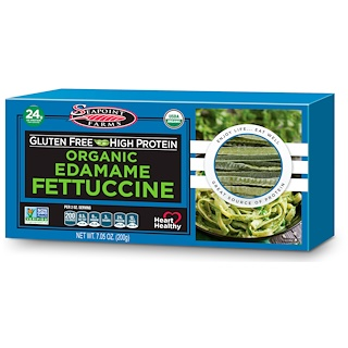 Seapoint Farms, Organic Edamame Fettuccine, 7.05 oz (200 g)