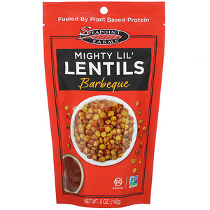 Seapoint Farms, Mighty Lil' Lentils, Barbecue, 5 oz (142 g)