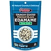 Seapoint Farms, Crunchy Coated Premium Black Edamame, sal de mar, 3,5 onzas (99 gramos)