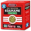 Сушеные обжаренные бобы эдамаме, морская соль, 8 пакетиков, 0,79 унции (22,5 г) каждый
