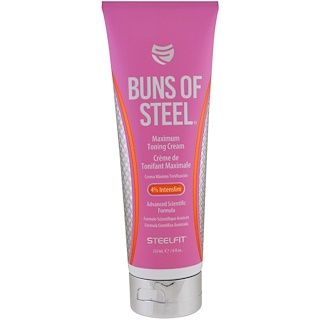 Pro Tan USA, Buns of Steel, Maximum Toning Cream, 8 fl oz (237 ml)