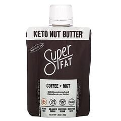 SuperFat, 生酮堅果乳,咖啡 + 中鏈甘油三酯,1.5 盎司(42 克)