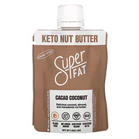 SuperFat, Keto Nut Butter, Cacao Coconut, 1.5 oz (42 g)