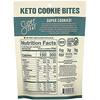 SuperFat, Keto Cookie Bites 巧克力脆曲奇,2.25 盎司(64 克)