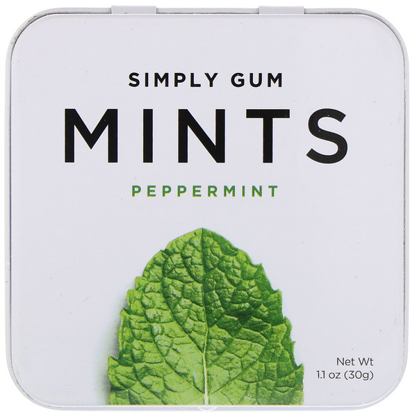 Mints, Peppermint, 1.1 oz (30 g)