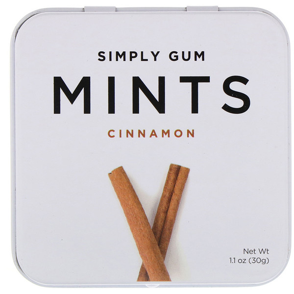 Mints, Cinnamon, 1.1 oz (30 g)