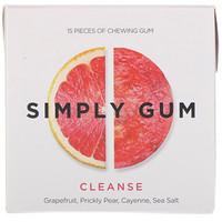 Simply Gum, Cleanse Gum, 15 Pieces