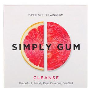 Simply Gum, Cleanse Gum, 15 Pieces отзывы
