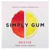 Simply Gum, علكة منعشة، 15 قطعة