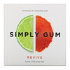Simply Gum, Revive, Lime, Chill, Sea Salt, 15 Pieces