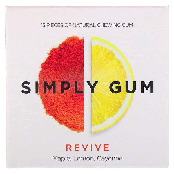 Simply Gum, מסטיק בטעם מרענן, 15 יחידות