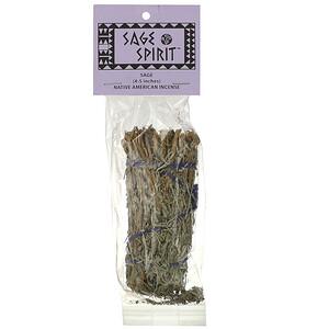 Сэйдж спирит, Native American Incense, Sage, Small (4-5 Inches), 1 Smudge Wand отзывы