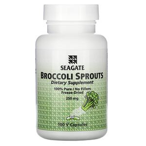 Сигэйт, Broccoli Sprouts, 250 mg, 100 Veggie Caps отзывы покупателей