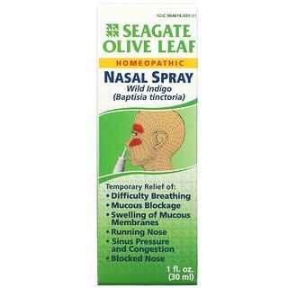 Seagate, Olive Leaf Nasal Spray, 1 fl oz (30 ml)