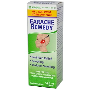 Сигэйт, Earache Remedy, 1/2 fl oz (15ml) отзывы