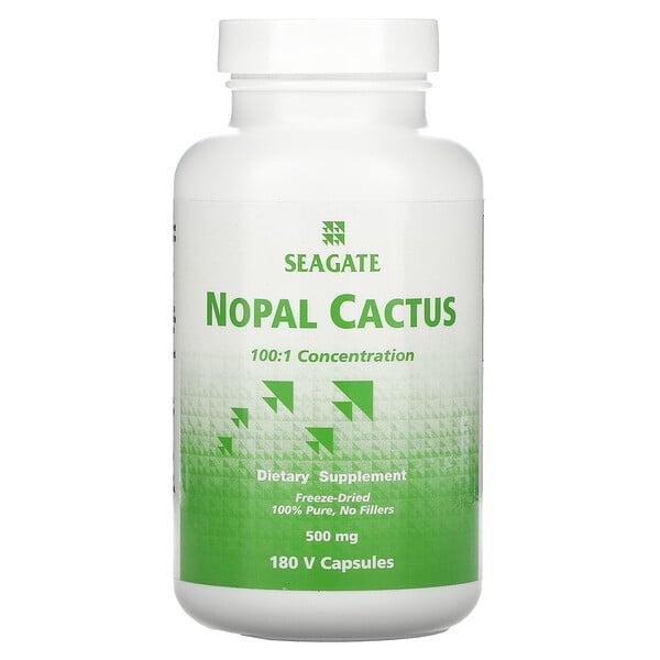 Nopal Cactus, 500 mg, 180 V Capsules