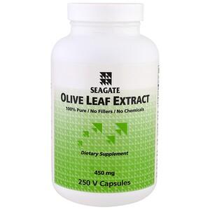 Сигэйт, Olive Leaf Extract, 450 mg, 250 V Capsules отзывы покупателей