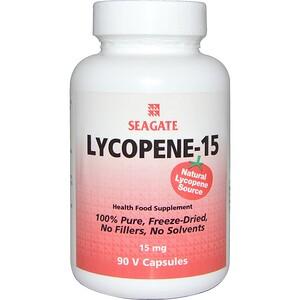 Сигэйт, Lycopene-15, 15 mg, 90 Vcaps отзывы покупателей