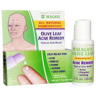 Seagate, Olive Leaf Acne Remedy, 1 fl oz (30 ml)