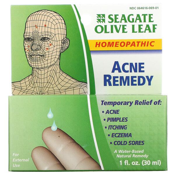 Olive Leaf Acne Remedy, 1 fl oz (30 ml)