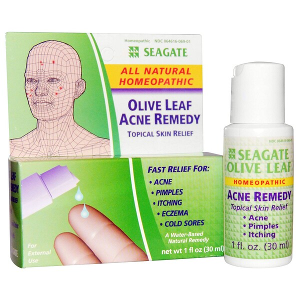 Olive Leaf Acne Remedy, 1 fl oz (30 ml)