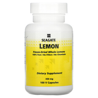 Seagate, Lemon, 450 mg, 100 V Capsules