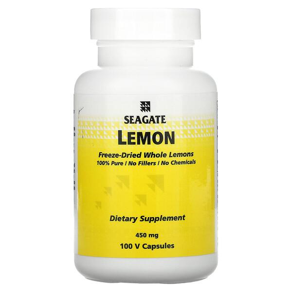 Citron, 450 mg, 100 capsules végétales