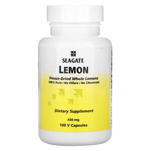 Сигэйт, Lemon, 450 mg, 100 Vcaps отзывы покупателей