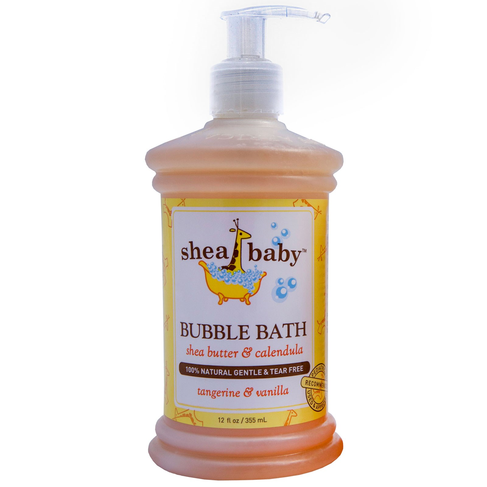Shea Baby Shea Mama, Пена для ванн, мандарин & ваниль, 12 унций (355)