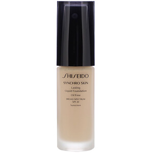Shiseido, Synchro Skin, Lasting Liquid Foundation, SPF 20, Neutral 2, 1 fl oz (30 ml) отзывы