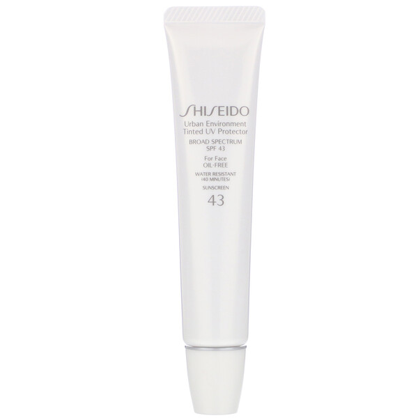 Shiseido, Urban Environment, Tinted UV Protector For Face, SPF 43, #3, 1.1 oz (30 ml) (Discontinued Item)