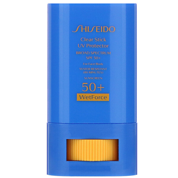 Shiseido, Clear Stick, UV Protector, WetForce, SPF 50+, .52 oz (15 g) (Discontinued Item)