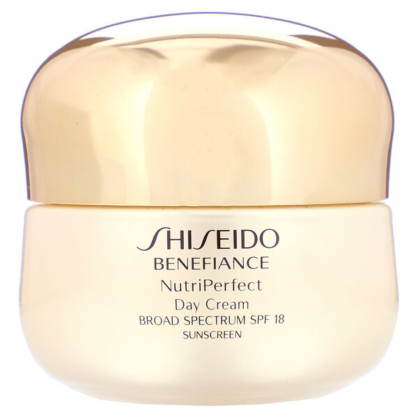 Shiseido, Benefiance, NutriPerfect, Crème de jour, SPF18, 50ml (Discontinued Item)