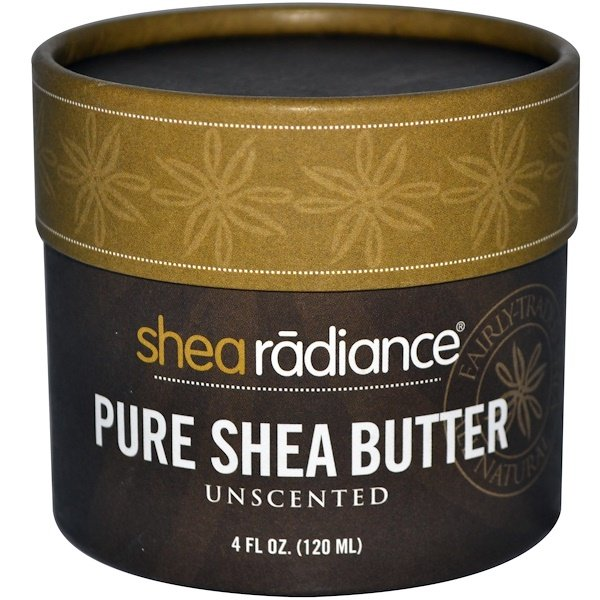Shea Radiance, Pure Shea Butter, Unscented, 4 fl oz (120 ml) (Discontinued Item)