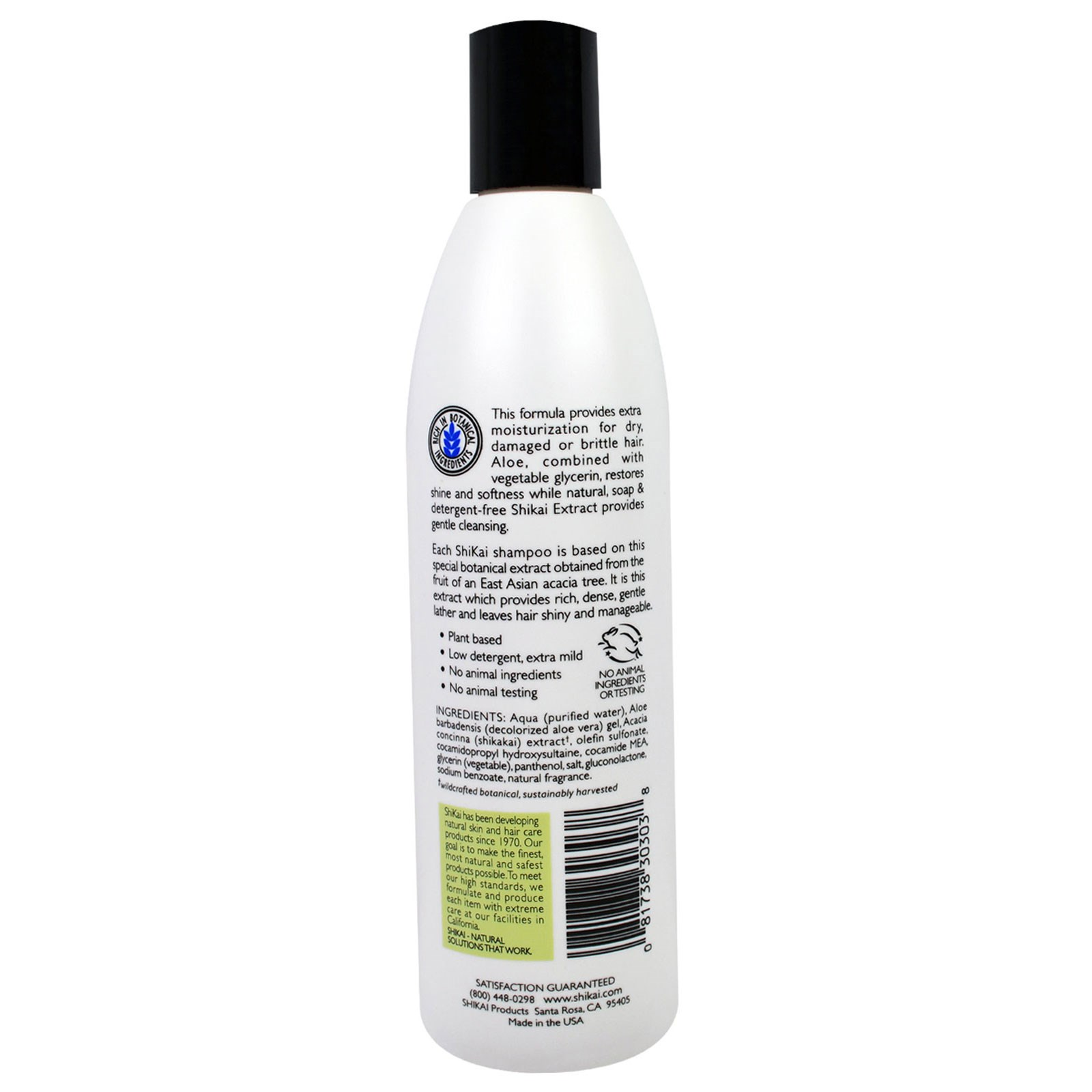 Non-Detergen Natural Everyday Cleansing Shampoo Plant-Based Non-Soap Shikai