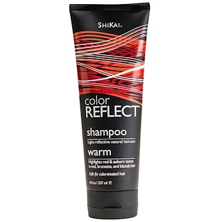 Shikai, Color Reflect, Shampoo, Warm, 8 oz (237 ml)