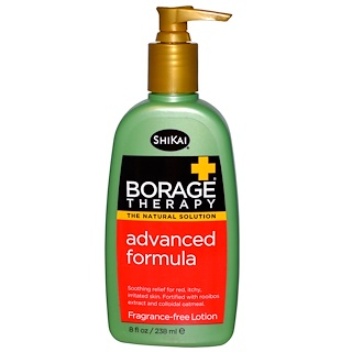 Shikai, Borage Therapy, Advanced Formula Lotion, Fragrance-Free, 8 fl oz (238 ml)
