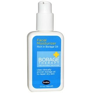 Shikai, Borage Therapy, Facial Moisturizer, 3 fl oz (89 ml)