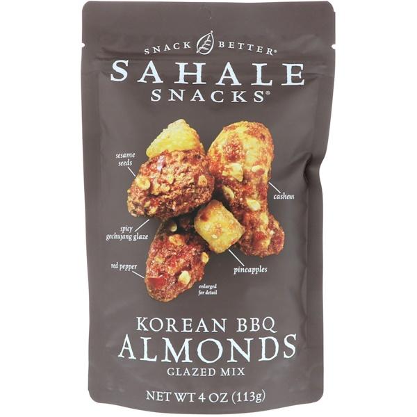 Sahale Snacks, Glazed Mix, Korean BBQ Almonds, 4 oz (113 g) (Discontinued Item)