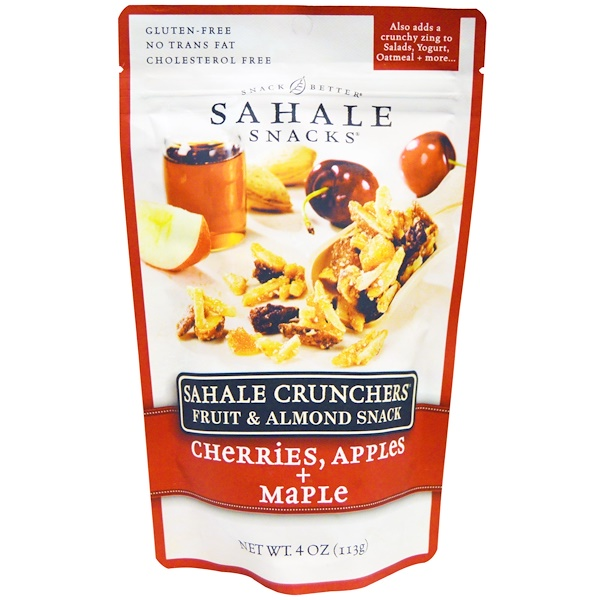 Sahale Snacks, Snack Better, Glazed Mix, Honey Almonds, 9 Packs, 1.5 oz (42.5 g) Each (Discontinued Item)