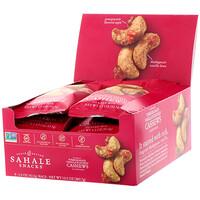 Глазированные орехи, кешью с гранатом + ваниль, 9 пачек по 1,5 унции (42,5 г) - фото