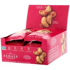 Sahale Snacks, Pomegranate Vanilla Flavored Cashews, Glazed Mix, 9 Packs, 1.5 oz (42.5 g) Each